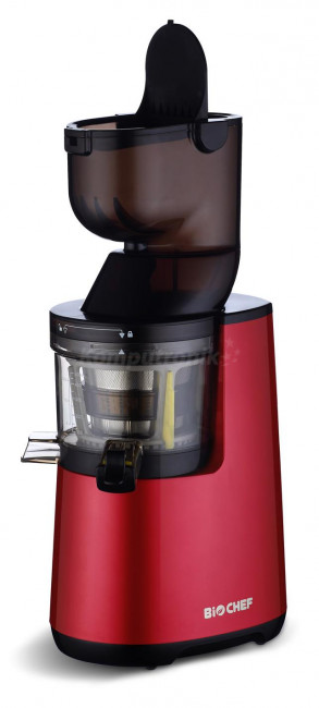BioChef Atlas Whole Slow Juicer czerwony